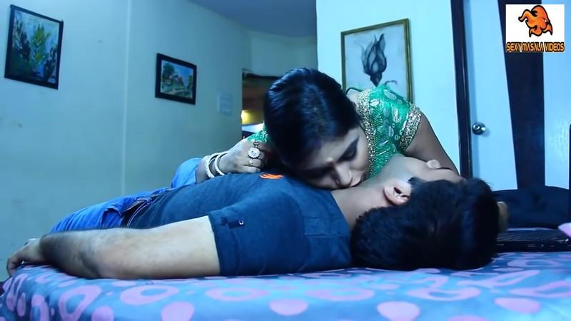 Indian bhabhi fuck with young devar homemade sex